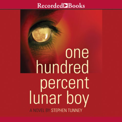One Hundred Percent Lunar Boy audiobook cover art