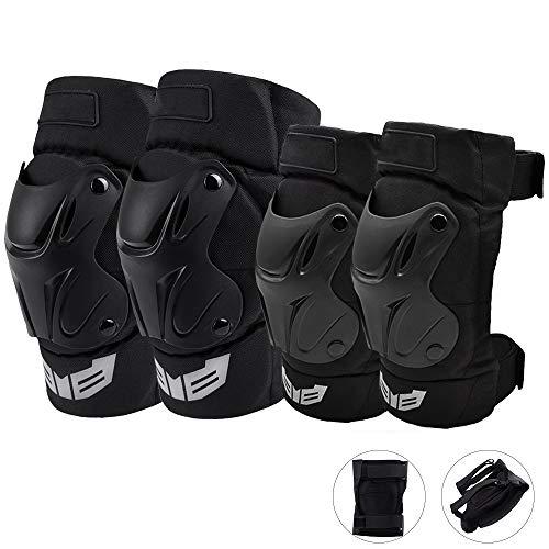 Motorrad Knieschützer Anzug Erwachsene Ski Ellenbogenschützer Volleyball Reiten Arm Hockey Snowboard Schutz Set für Motocross Snowboarden