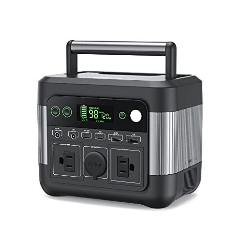 Puleida ポータブル電源 大容量 80000mAh/296Wh 2.5時間で満充電 アウトドア 家庭用蓄電池 非常用電源 小型軽量 純正弦波AC(300W 瞬間最大500W) PSE認証済み USB-C PD65W出力 DC/USB出力 QC3.0急
