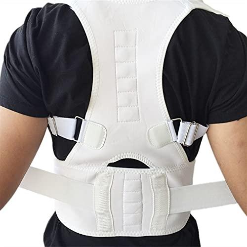 KISAD Férulas para Espalda Relajante Mujeres Corrector Corrector Postura Back-Support Vendaje Hombro Corsé Atrás Soporte Postura Corrección Cinturón (Color : C, Size : L)