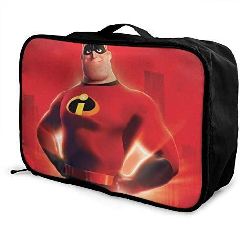 Increíbles viaje Lage bolsa de lona ligera maleta portátil bolsas para mujeres hombres niños impermeable gran capacidad bapa
