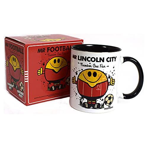 Mr Lincoln City Mug - Gift Merchandise for Football Fan