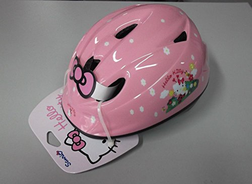 CASCO BICI BIMBA KIDS IRONWAY ORIGINALE HELLO KITTY PINK COCCINELLE TG.46-52