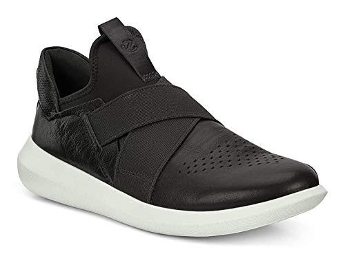 Ecco Scinapse, Zapatillas sin Cordones para Mujer, Negro (Black/Black), 37 EU