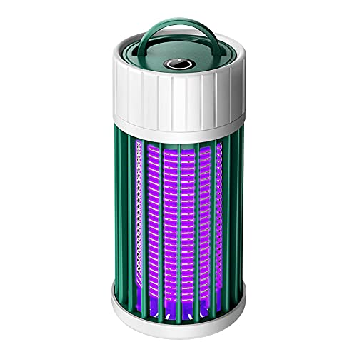 CRGANGZY Matador de Moscas eléctrico para el hogar en Interiores, Luces LED...