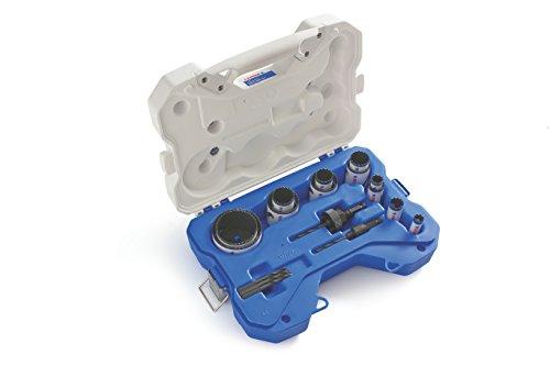 Lenox Tools 308201200G General-Purpose Speed Slot Bi-Metal Hole Saw Set, 17-Piece
