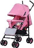 Suge Kinderwagen Tragbare Kinderwagen-Spaziergänger High View BabyPram 2 in 1 Kinderwagen hot mom...