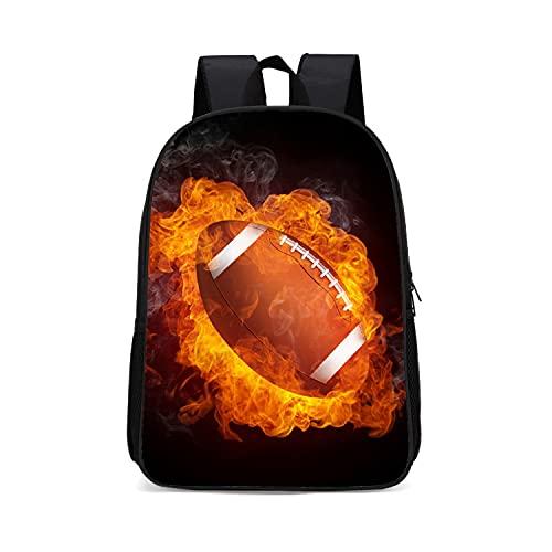 Moda zaino Burning basket Tempo libero viaggio zaino scuola personalità moda unisex zaino, GS01., 43 cm