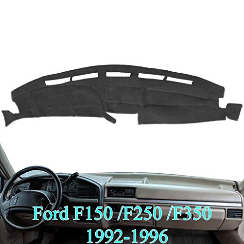 AKMOTOR Dash Cover Mat Custom Fit for Ford F150 F250 F350 Pickup Truck 1992 1993...