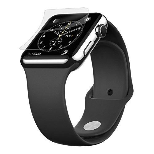 Belkin InvisiGlass Bildschirmschutzfolie (geeignet für die Apple Watch Serie 1 & Serie 2, 42 mm, 9H, echtes Glas, Kratzerschutz)