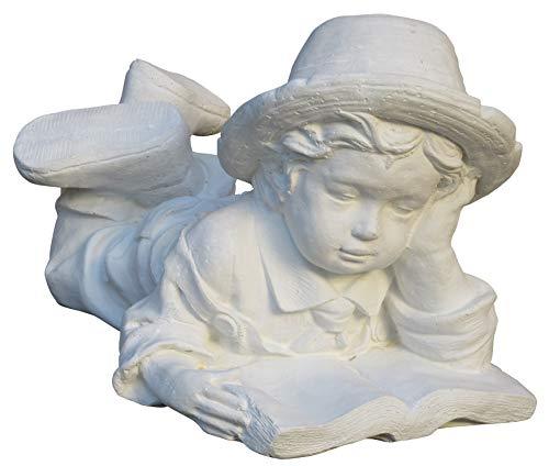 STONE art & more - Figura de Piedra fundida con mármol (Resistente a heladas)