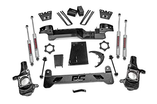 Rough Country 6' Lift Kit (fits) 2001-2010 Chevy Silverado GMC Sierra 2500 HD 4WD | N3 Shocks | Knuckles | 29730