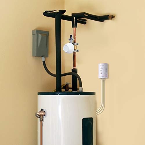 hot water shut off valve - 4