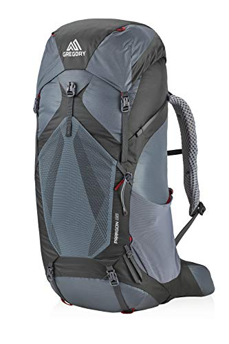 Gregory Mountain Products Men's Paragon 68 Backpacking Backpack , Smoke Grey, Medium/Large