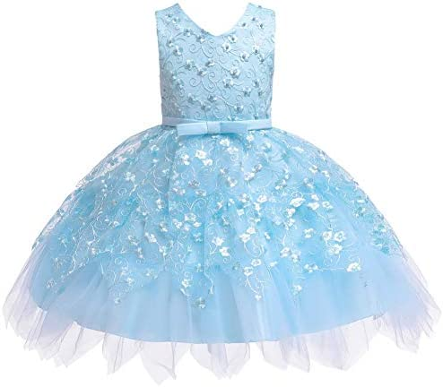 COMISARA Toddler Baby Girls Bridesmaid Dresses Little Kids Birthday Prom Pageant Wedding Party product image