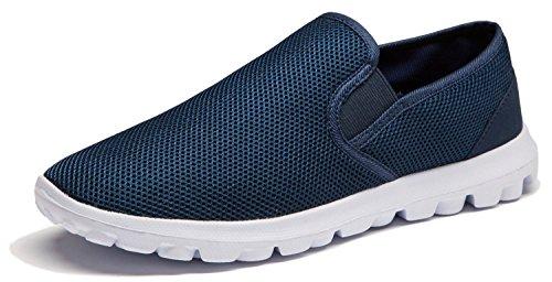 Vibdiv Men's Lightweight Casual Loafers Slip on Shoes Breathable Anti-Slip...