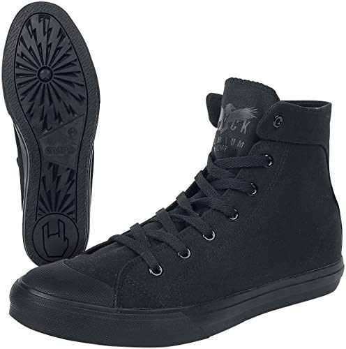Black Premium by EMP Walk The Line Unisex Deportivas Altas Negro,