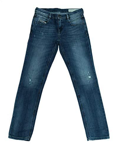 Diesel Belthy 0853S - Jeans da donna, Blu, 25W x 30L