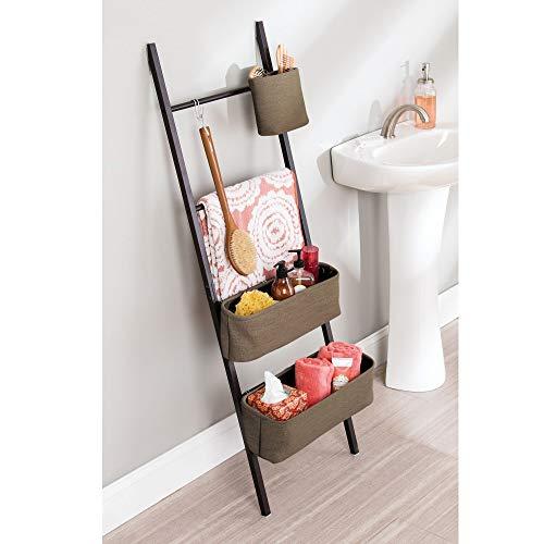 InterDesign Formbu tandenborstelhouder standaard voor badkamer wastafel werkbladen