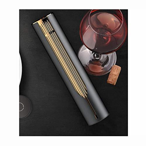 wsxc Sacacorchos de vino, base de carga USB, indicador de potencia LED, fuerte y duradero, utilizado en la barra de restaurante de cocina