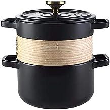 Praktisch Casserole gerechten braadpan gietijzeren braadpan braadpan met deksel voor oven pyrex braadpan met deksels, stoo...