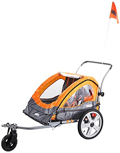 Instep Quick-N-EZ Double Child Carrier Bicycle Trailer