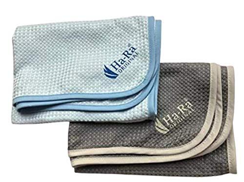 Ha-Ra Doppelpack Hammer Tuch blau + anthrazit grau