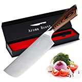 Nakiri Knife Vegetable Knife 7-Inch...