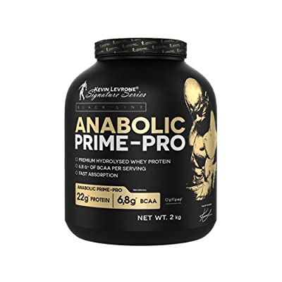 Kevin Levrone Black Line Anabolic Prime Pro 2kg Whey Protein Hydrolysat from Kevin Levrone Signature Series
