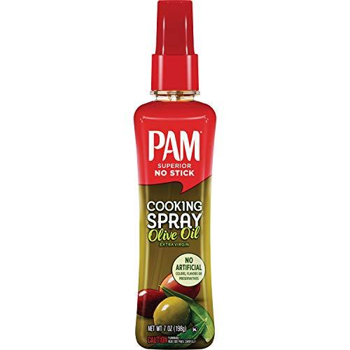 PAM Spray Pump Olive Oil Cooking Spray, Keto Friendly, 7 oz.
