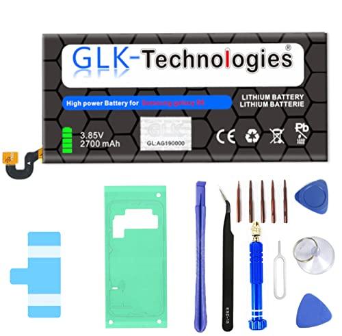 High-Capacity Ersatzakku kompatibel mit Samsung Galaxy S6 SM-G920F / EB-BG920ABE| Original GLK-Technologies Battery | accu | 2700 mAh Akku | inkl. Werkzeug Set Kit
