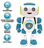 LEXIBOOK Robot Inteligente Powerman Junior Educativo e Interactivo, Lee la...