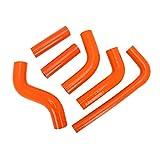 USTPO Kit de mangueras para radiador de silicona reforzada para motocicleta, compatible con K.T.M EXC400/450/525 EXC400 EXC450 EXC525 EXC 2002-2006 2002 2003 2004 2005 2006