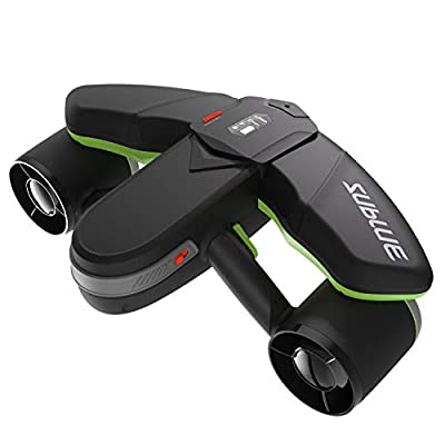 WINDEK SUBLUE Seabow Smart Underwater Scooter with Action Camera Mount OLED Display 40M Waterproof for Water Sports Swimming Pool & Diving & Snorkeling & Sea Adventures