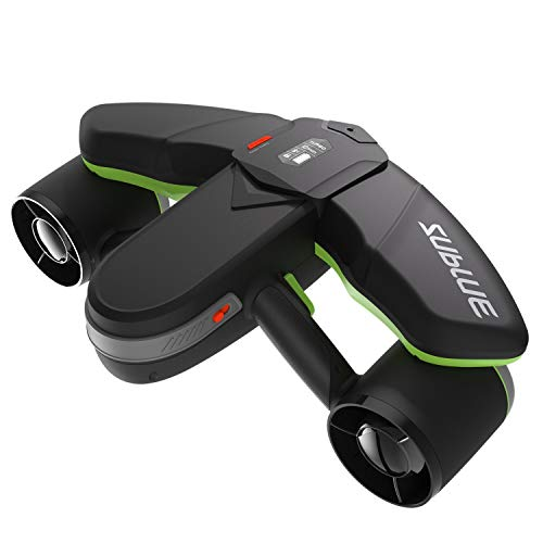 SUBLUE Seabow Smart Underwater Scooter with Action Camera Mount OLED Display 40M Waterproof for...