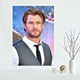 NOVELOVE Chris Hemsworth Schauspieler Star Poster