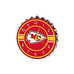 Kansas City Chiefs Bottlecap Clock