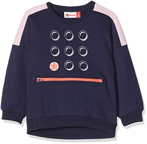 Lego Wear Baby-Mädchen Lwsun Sweatshirt, Blau (Dark Navy 590), (Herstellergröße: 98)
