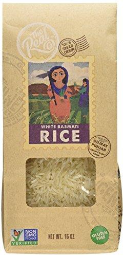 The Real Co Single Origin White Basmati Rice, 6 Count
