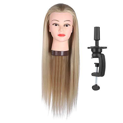 Oefenhoofd pruik dummy mannequin hoofd kleurt haar
