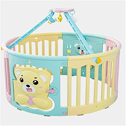 Great Deal! Rnwen Children's Playpen Children Baby Indoor Playpen Baby Safety Toddler Mat Climbing M...