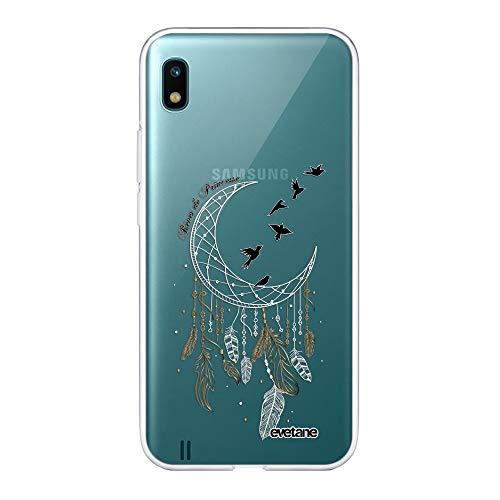 Evetane - Carcasa para Samsung Galaxy A10 360 Integral, Carcasa Delantera Trasera, Resistente, protección sólida, Funda Transparente con sueños de Princesa, diseño de Tendencia