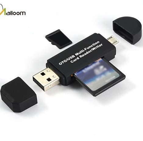 TopgadgetsUK geheugenkaarten Leesapparaat Micro USB OTG naar USB 2.0 Adapter SD-kaartlezer voor Android Telefoon Tablet PC