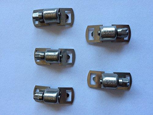 Schlauchschelle Endlos Bandschllösser für Bandbreite 8 mm aus Edelstahl V2A 304