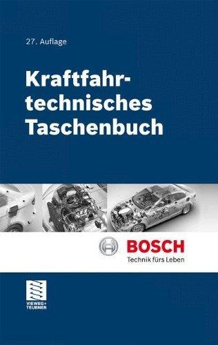 Kraftfahrtechnisches Taschenbuch by Konrad Reif;Karl-Heinz Dietsche(2010-12-09)