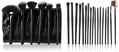 Pivoine Brosse cosmétique 23 pièces avec étui Noir 1,77 livre