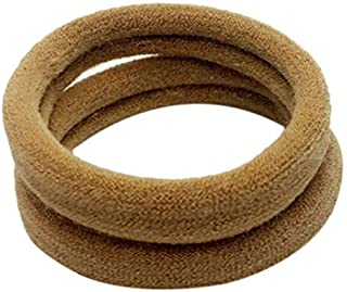 Band Rolling Ring 10pcs Women Girls High Elasticity 4cm Medium Thick Rolled Towel Hair Rope Candy Solid Color Rubber Band Ring Holder Scr