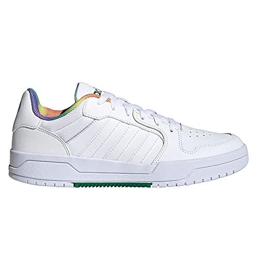 adidas ENTRAP, Zapatillas de Baloncesto Hombre, FTWBLA/FTWBLA/Gridos, 44 2/3 EU