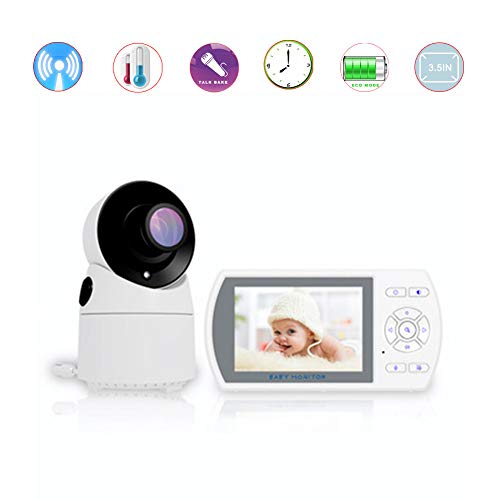 Best Buy! DBM-TOR Wireless Video Digital Camera Baby Monitor with 3.5 Inch Screen Shaking Head Panor...