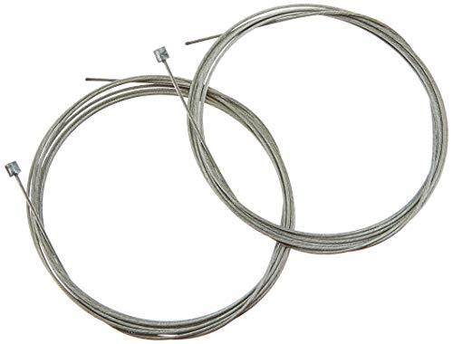 *Shimano 2 Cables de Cambio de 1,2 mm x 2100 mm, galvanizados.